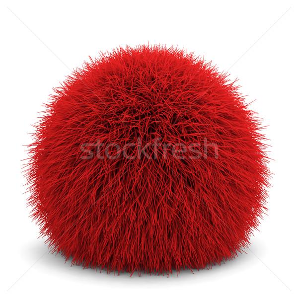 ふわっとした ボール 3次元の図 孤立した 白 ファッション ストックフォト © montego