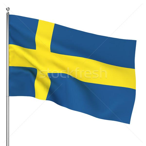 Swedish flag Stock photo © montego