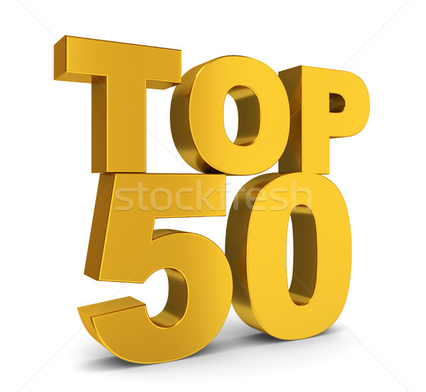 Top fifty Stock photo © montego