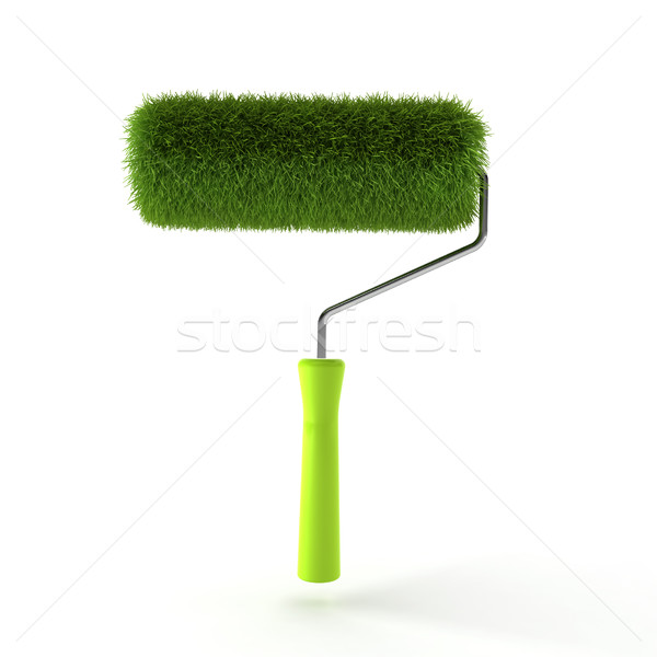 Grass roller Stock photo © montego