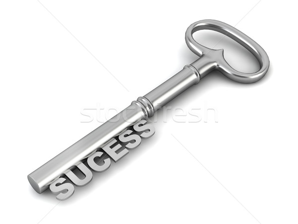 Sucess key Stock photo © montego