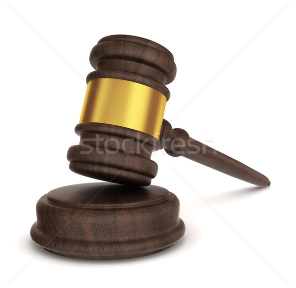 Justice hammer Stock photo © montego