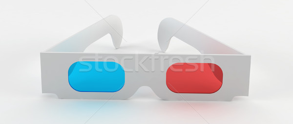 3d glasses Stock photo © montego