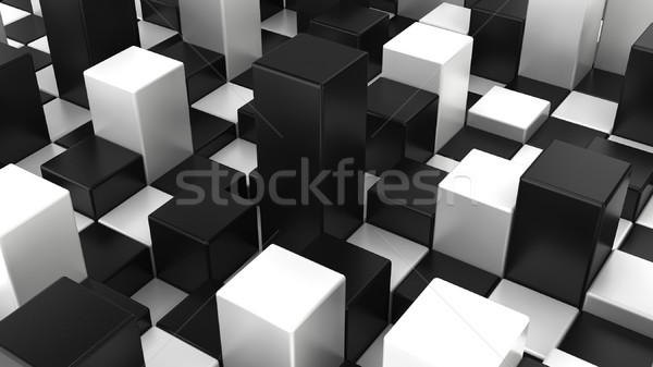 Abstract checker background Stock photo © montego