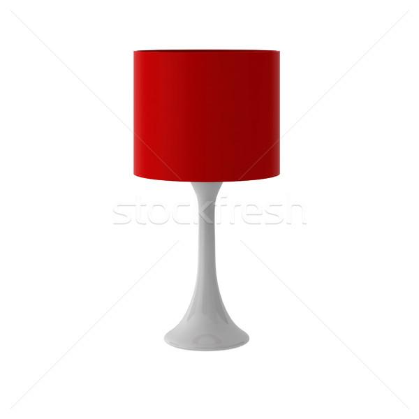 Rendering 3d moderno lampada elettrica elettrici oggetto Foto d'archivio © montego