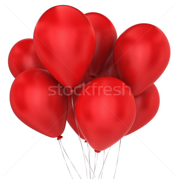 Bunch of balloons Stock photo © montego