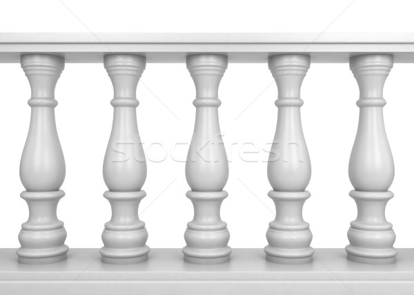 White balustrade Stock photo © montego