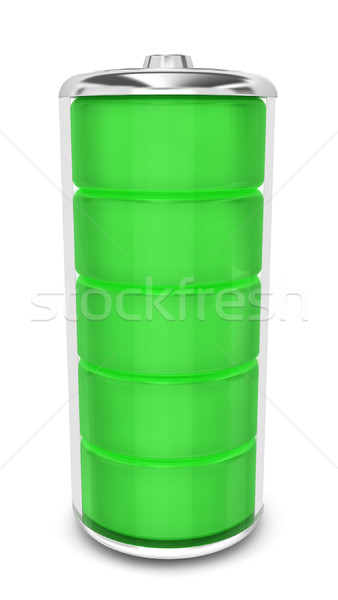 Battery with energy level Stock photo © montego