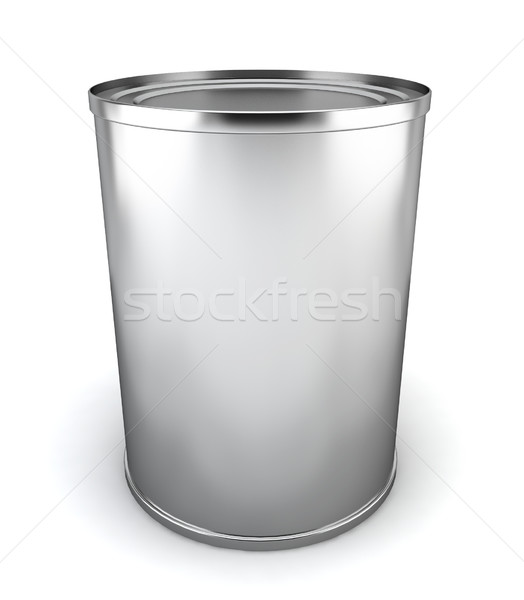 Blank tincan Stock photo © montego