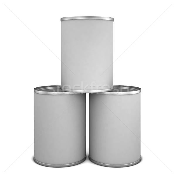 Tin cans Stock photo © montego