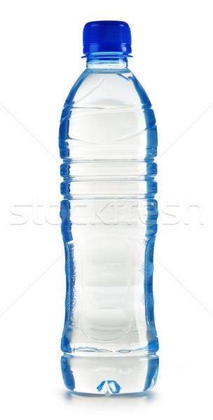 Plastikowe butelki woda mineralna odizolowany biały wody Zdjęcia stock © monticelllo