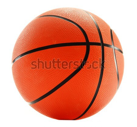 Basketball isolated on white background Stock photo © monticelllo