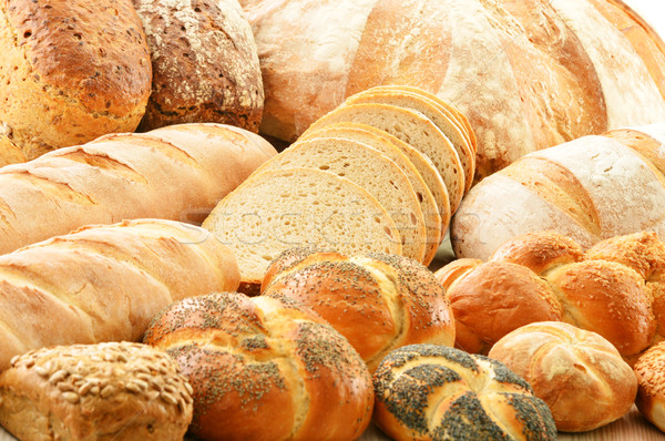 Productos diferente pan alimentos Foto stock © monticelllo