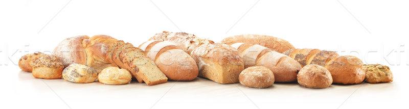 Pan compras maíz frescos semillas Foto stock © monticelllo