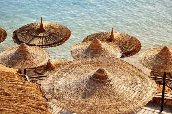 Deniz plaj sıcak yaz gün su Stok fotoğraf © monticelllo