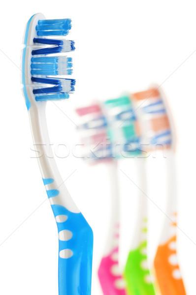Isoliert weiß Zahnarzt Farbe Reinigung sauber Stock foto © monticelllo