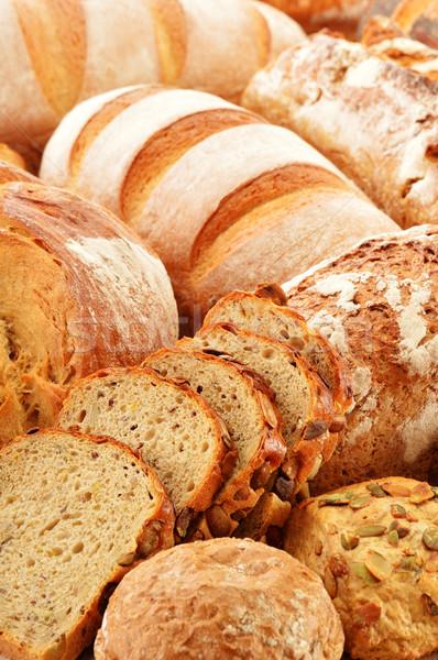 Ekmek buğday mısır taze tohum Stok fotoğraf © monticelllo