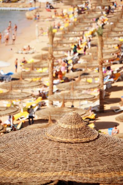 Tenger tengerpart forró nyár nap víz Stock fotó © monticelllo