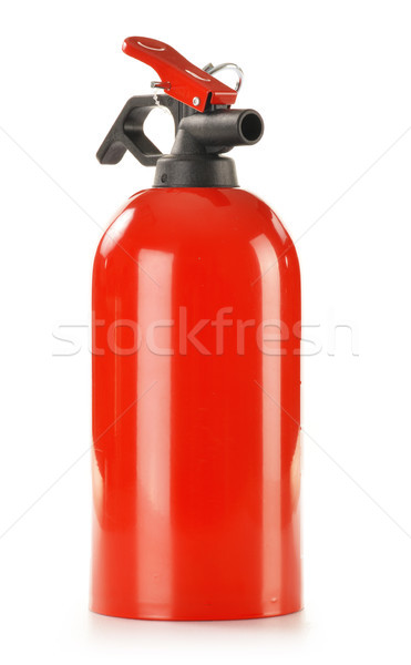 Fire extinguisher isolated on white Stock photo © monticelllo