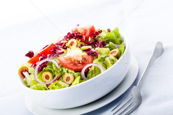 Fresh salad Stock photo © Moradoheath