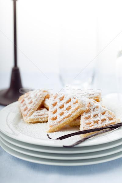 粉砂糖 中心 食品 デザート ストックフォト © Moradoheath