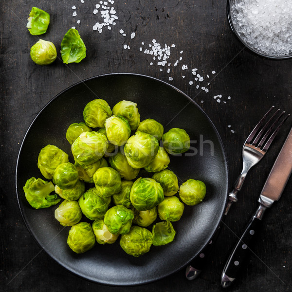 Boiled brussels sprouts Stock photo © Moradoheath