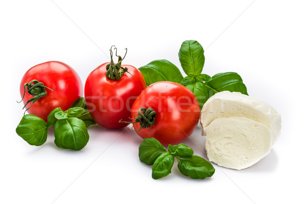 Tomato Mozzarella Stock photo © Moradoheath