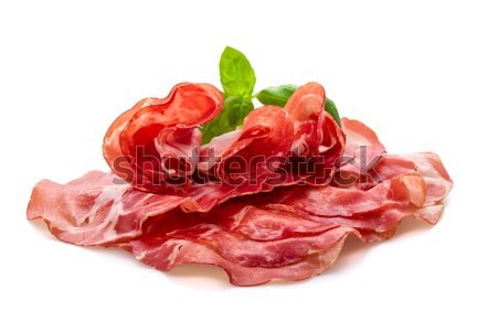 Coppa di Parma ham Stock photo © Moradoheath