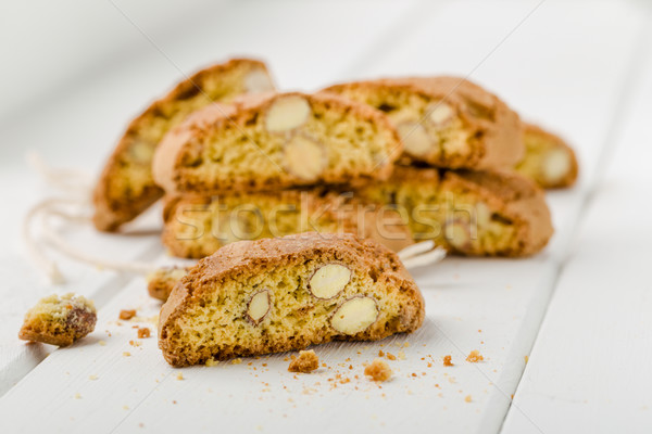Traditional Cantuccini biscuits Stock photo © Moradoheath