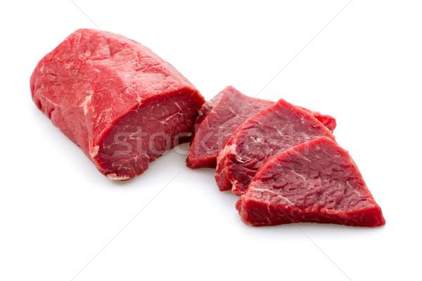 Fraîches viande steak Photo stock © Moradoheath