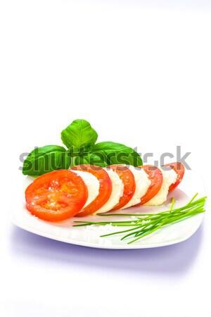 Tomate Mozzarella Stock photo © Moradoheath