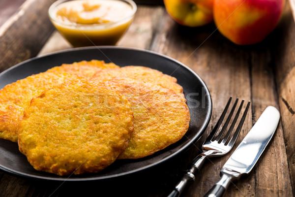 potato pancakes Stock photo © Moradoheath