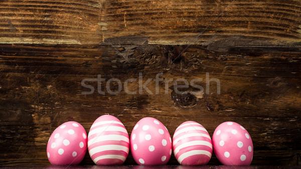 Easter eggs Stock photo © Moradoheath