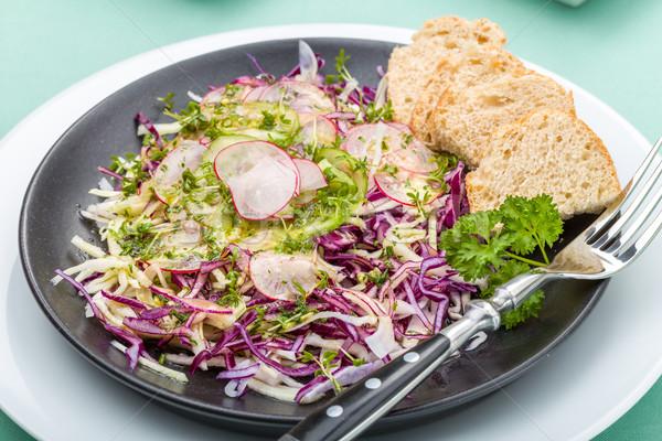 raw vegetable salad Stock photo © Moradoheath
