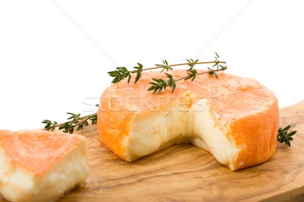 French soft cheese Stock photo © Moradoheath