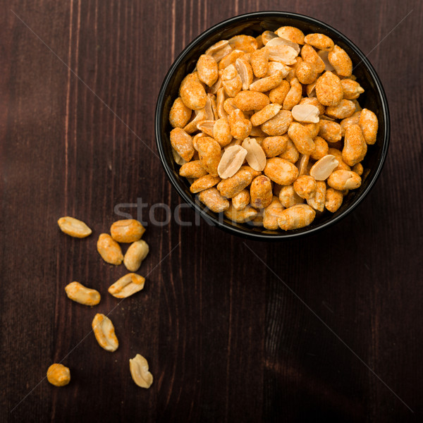 Spiced peanuts Stock photo © Moradoheath