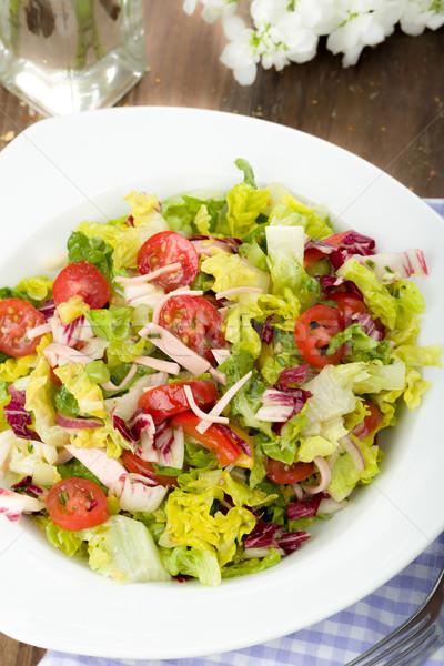 Salad Stock photo © Moradoheath