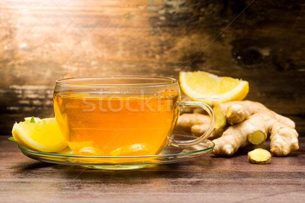 Ginger tea Stock photo © Moradoheath