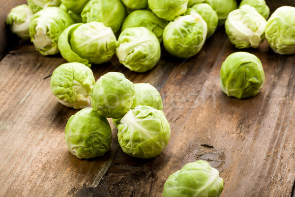 Brussels sprouts Stock photo © Moradoheath