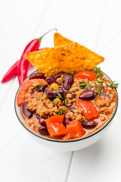 Chili Con Carne Stock photo © Moradoheath