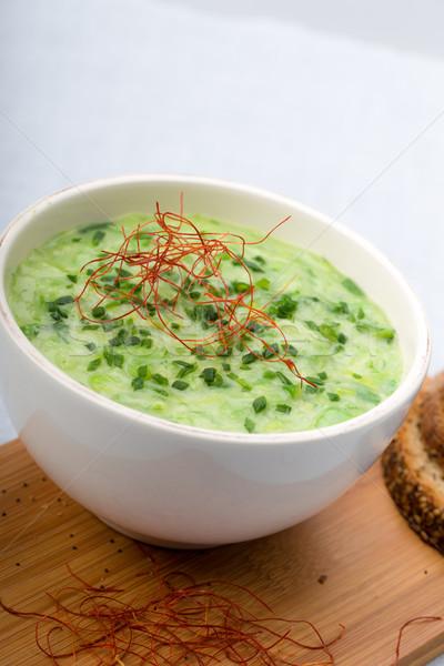 лук-порей суп свежие чили Сток-фото © Moradoheath