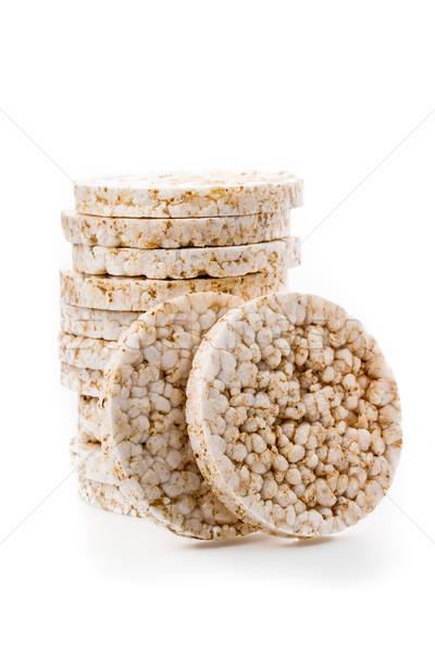 rice wafers Stock photo © Moradoheath