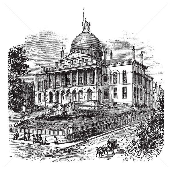 State House or Massachusetts State House or The New State House, Stock photo © Morphart