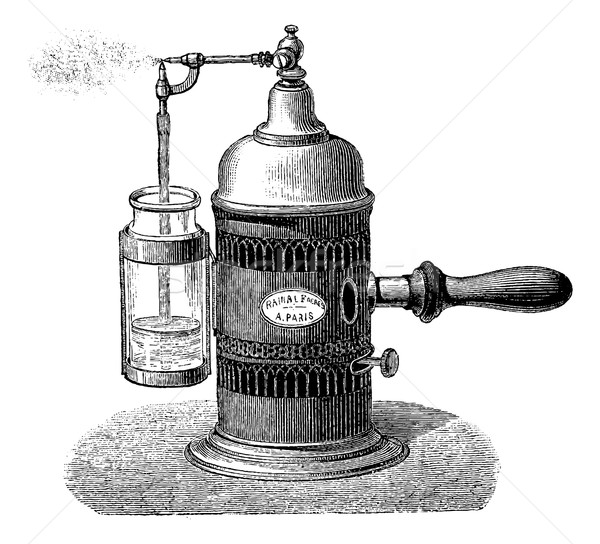 Sprayer, vintage engraving Stock photo © Morphart