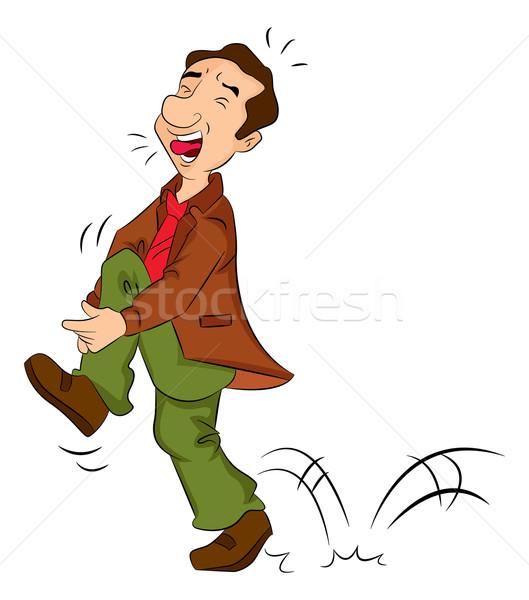男 痛み 実例 健康 男性 白 ストックフォト © Morphart