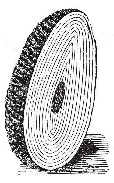 Számítás hólyag űrlap központi mag rétegek Stock fotó © Morphart
