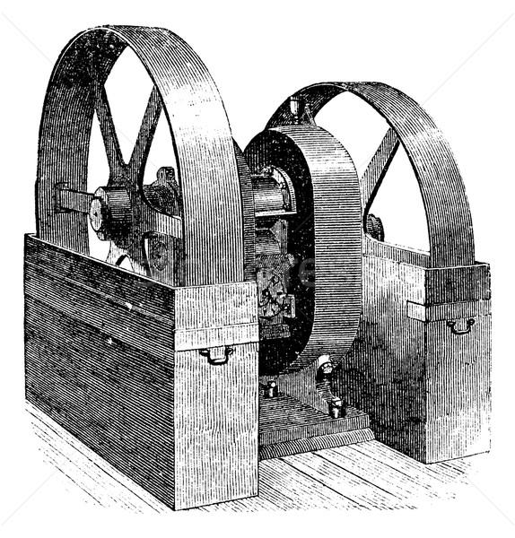 ミル ヴィンテージ 彫刻 刻ま 実例 百科事典 ストックフォト © Morphart