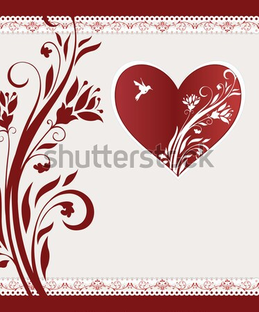 Valentine's day card  Stock photo © Morphart