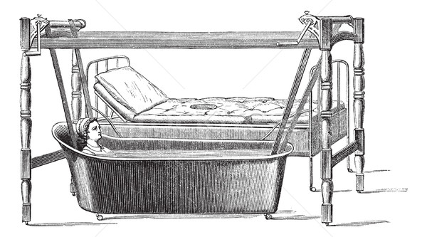 Fig. 140. Dupont apparatus for transportation of patients from t Stock photo © Morphart