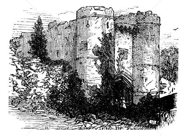 Castello Regno Unito Inghilterra vintage vecchio Foto d'archivio © Morphart